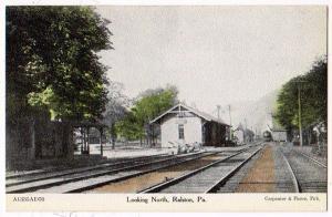RR Station, Ralston PA