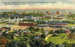 Market Street & Walnut Street Bridges - Chattanooga, Tennessee