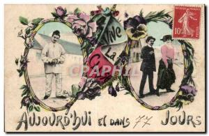 Old Postcard Army Long live the class