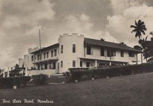 Port Reitz Hotel Mombasa Vintage Real Photo Postcard