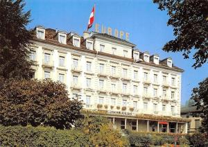 Switzerland Grand Hotel Europe Lucerne
