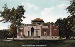 Maine Brunswick Walker Art Building
