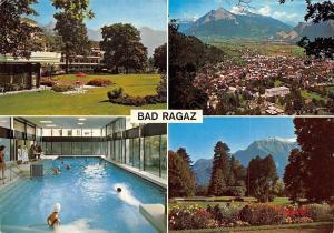 Switzerland Bad Ragaz, Grd. Hotel Hof Ragaz, Hotel Thermalschwimmbad Gonzen