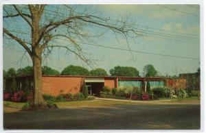 Science Building William Carey College Hattiesburg Mississippi MS 1960s postcard