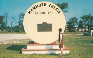 Mammoth Cheese (Replica) , PERTH , Ontario , Canada , 40-60s