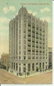 Portland, Me., Fidelity Trust Building