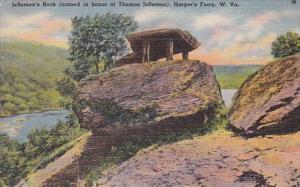 West Virginia Jefferson's Rock Harper's Ferry 1947