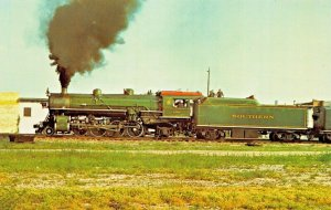 SOUTHERN RAILWAY LOCOMOTIVE 4501~MIKADO 2--8-2~MACON TO GORDON GEORGIA POSTCARD