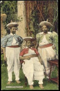 ceylon, KANDY, Native Kandyan Chiefs (1910s)