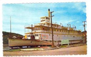 S.S. Keno at Dawson City, Yukon, 40-60s
