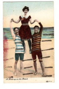 Hold-up on the Beach, Acrobatics, Vintage Comedy