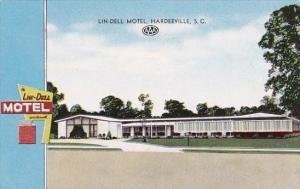 South Carlina Hardeeville Lin Dell Motel