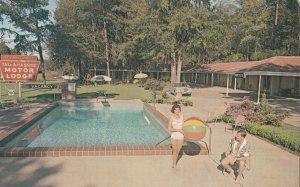 TALLAHASSEE , Florida, 1964 ; Motor Lodge , Swimming Pool