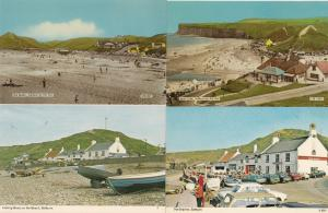 The Fishing Boats Ship Inn Beach Bank Cafe 4x 1970s Saltburn Postcard s