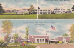Mississippi Meridian Senior High School Junior College Vocational Training Sc...