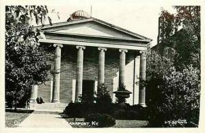 KY, Frankfort, Kentucky, RPPC, Old State Capitol, Cline 1-Y-90