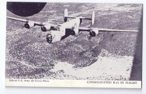 Consolidated B-24 Liberator Bomber in Flight Aircraft Arcade