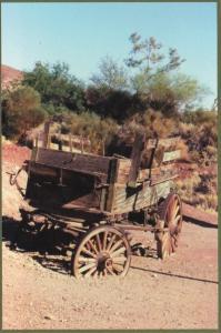 Old Wagon Barstow California