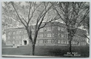 Chillicothe MO~Trees Budding @ High School~Schools Almost Out For Summer~1940s