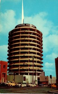 California Hollywood The Capitol Tower Home Of Capitol Records
