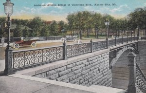 KANSAS CITY, Missouri, 1900-10s; Anderson Avenue Bridge at Gladstone Boulevard