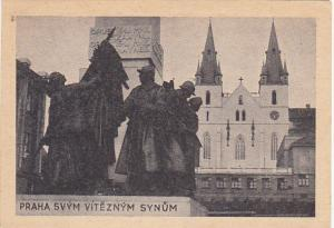 Czech Republic Praha Emauzy War Monument