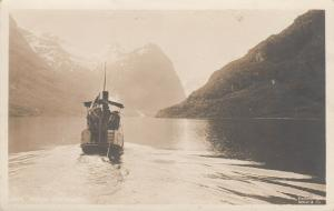 RP: OLDENVAND, Norway / NORGE, 1910s; Back of tugboat