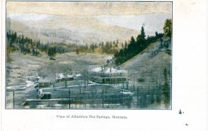 VIEW OF ALHAMBRA HOT SPRINGS, MONTANA.