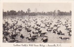 Lockhart Gaddy's Wild Goose Refuge Ansonville North Carolina Real Photo