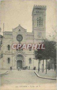 Postcard Luchon Old Church