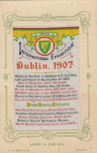 International Exhibition , DUBLIN , Ireland , 1907 ; Silk