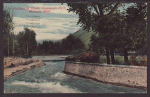 Rattlesnake Creek,Greenough Park,Missoula,MT Postcard