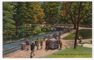 Saratoga Springs, N.Y., The Saratoga Spa