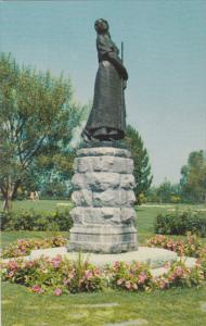 GRAND PRE, Nova Scotia, Canada, 1940-1960's; Evangeline Monument