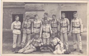 RP;  Pred Odchoden Do Milovic, Czech Republic Soldiers, 10-20s