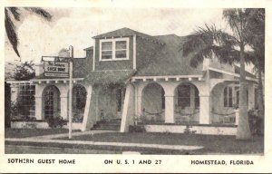 Florida Homestead The Sothern Guest Home South Krome Avenue