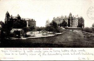 Maine Gorham Frederick Robie Hall State Normal School 1907