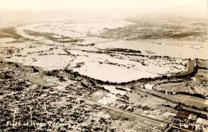 OR - Vanport. Flood of 1948, Aerial View   *RPPC