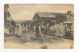Scenes et Types, Autour d'Un Marche Arabe, Africa, 1900-1910s