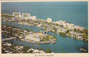 Florida Miami Beach Aerial View St Francis Hospital