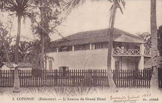 DAHOMEY . 1927, Cotonou - L'Annexe du Grand Hotel