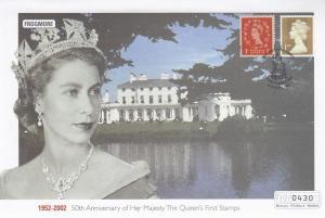Frogmore Queen Elizabeth II Golden Jubilee Rare Stamp 50th Anniversary FDC