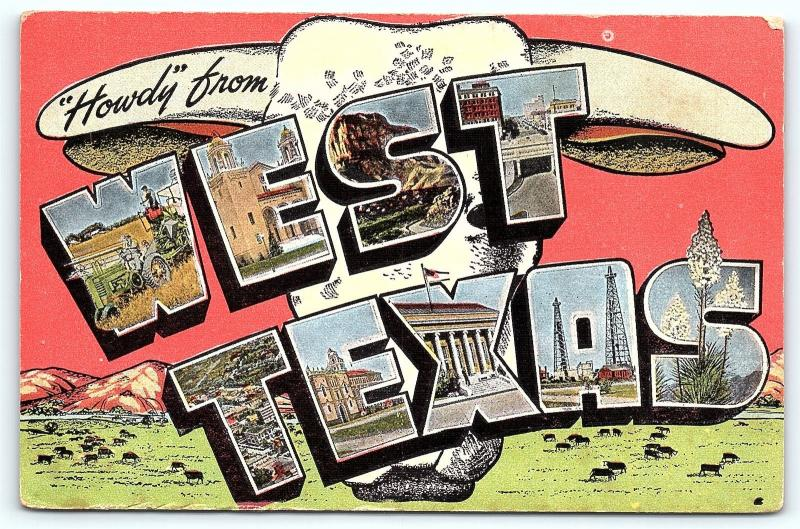 Postcard tx west texas large letter greetings from west texas 3 postcard tx west texas large letter greetings from west texas 3 m4hsunfo