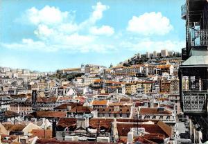 Portugal Old Vintage Antique Post Card Castelo de S Jorge Lisboa Postal Used ...