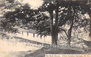 The Bath House White Sulphur Springs NY Unused