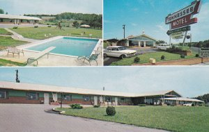 Tennessee Motel and Restaurant, ETOWAH, Tennessee, 40-60s; Swimming Pool