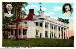 Virginia Mount Vernon Washington's Mansion 1930