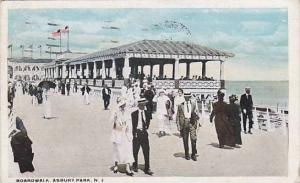 Boardwalk, Asbury Park,  New Jersey, PU-1921