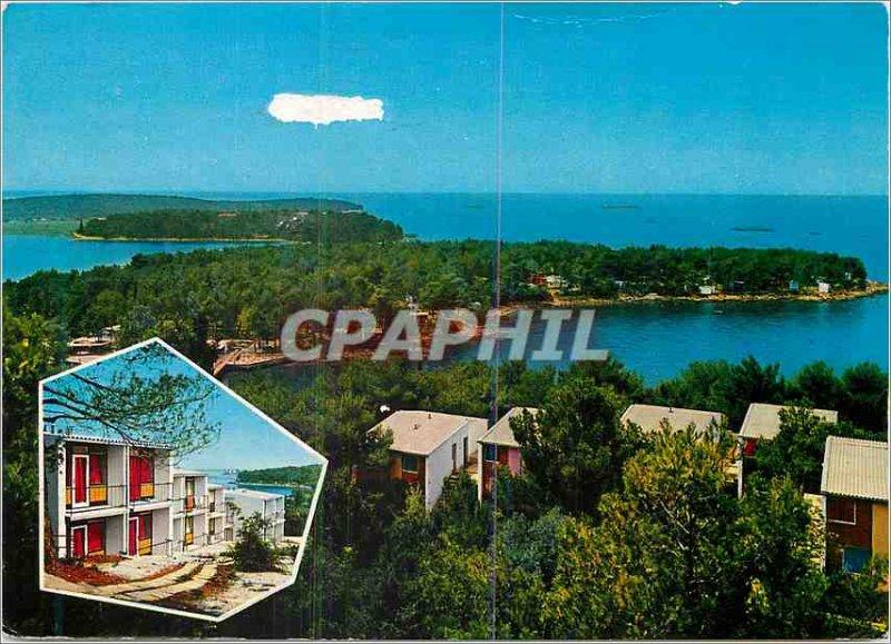 Postcard Modern Porec plava laguna