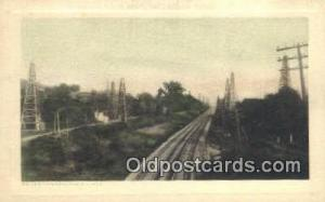 On The Pennsylvania Lines Trains, Railroads Postcard Post Card Old Vintage An...